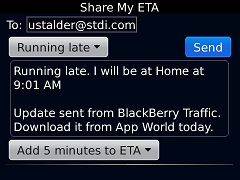 BlackBerry Traffic Apps