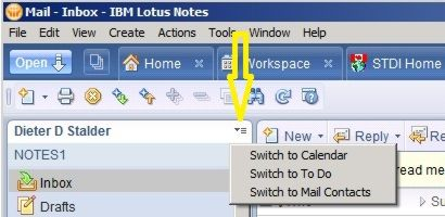 Verify Contact setup in Lotus Notes