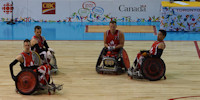 ParaPan Games Wheel Chair Rugby