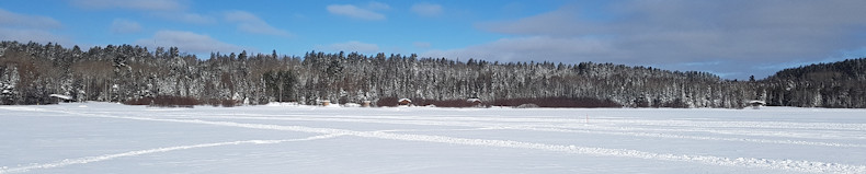 Windy Lake Provincial Park in Winter