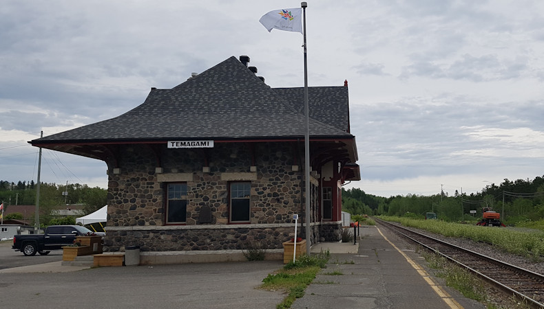 Temagami Train Station