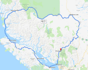 Round trip from Whistler, Bella Coola, Vancouver Island to Whistler in Summer 2019