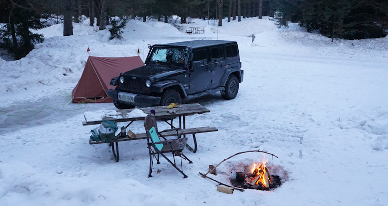 Winter Camping 2019