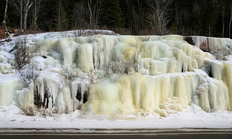 Algonquin Park ice formation