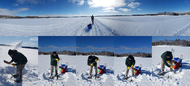 Rules of icefishing